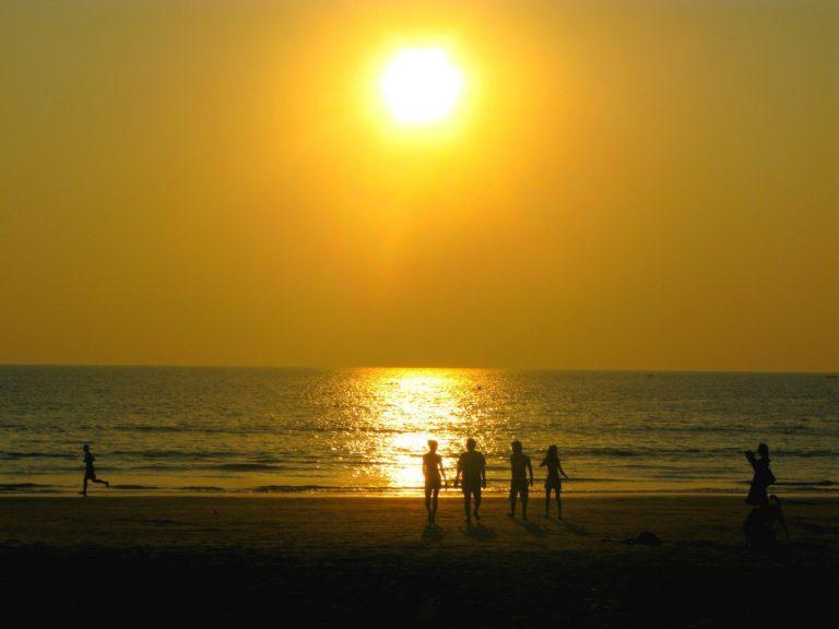 Палолем пляж в южном Гоа