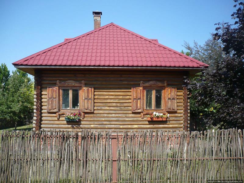 белорусская деревня 19 века в Могилёве