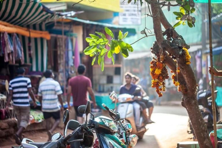 На байке в Индии