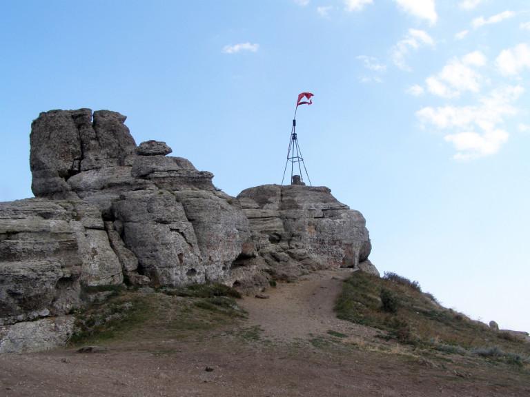 Крымский полуостров Пик горы Демерджи