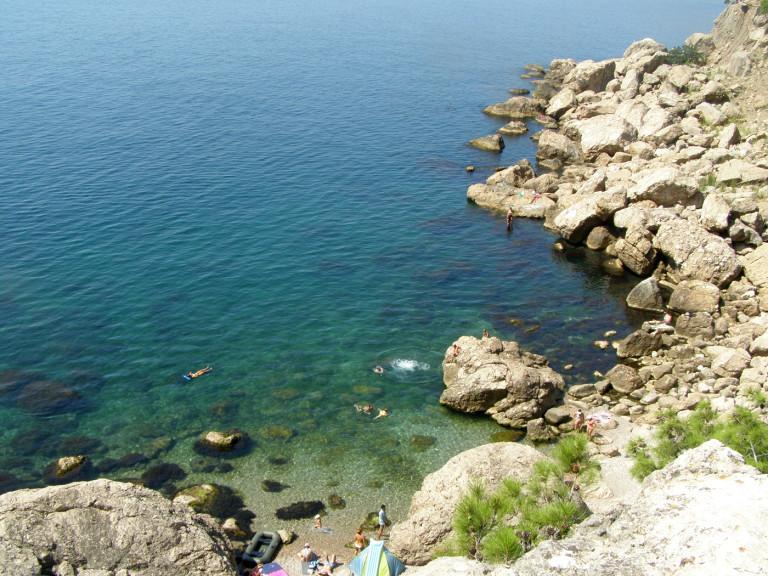 Пляж урочища Инжир