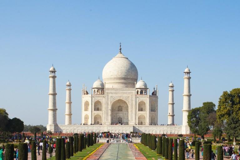 агра путешествие по Индии