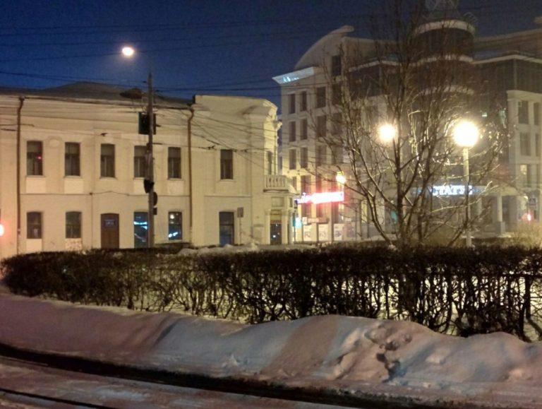 Центральные улицы Томска