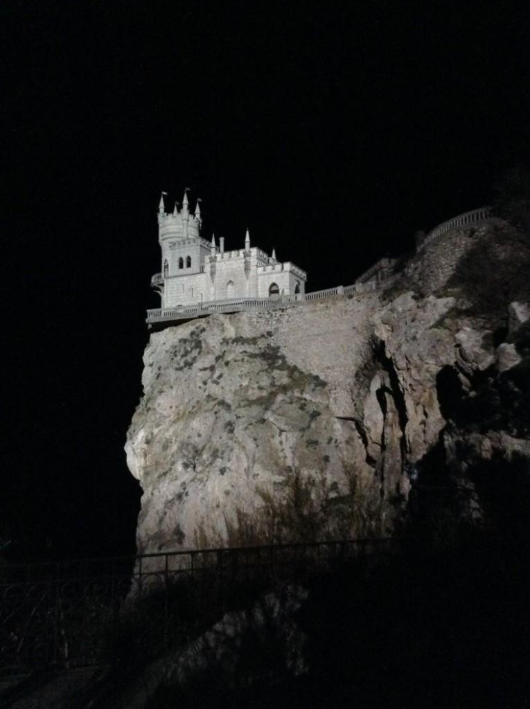Ласточкино гнездо в КрымуЗнаменитое «Ласточкино гнездо» в январе