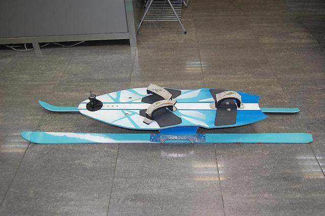 Виндсерфинг на лыжах