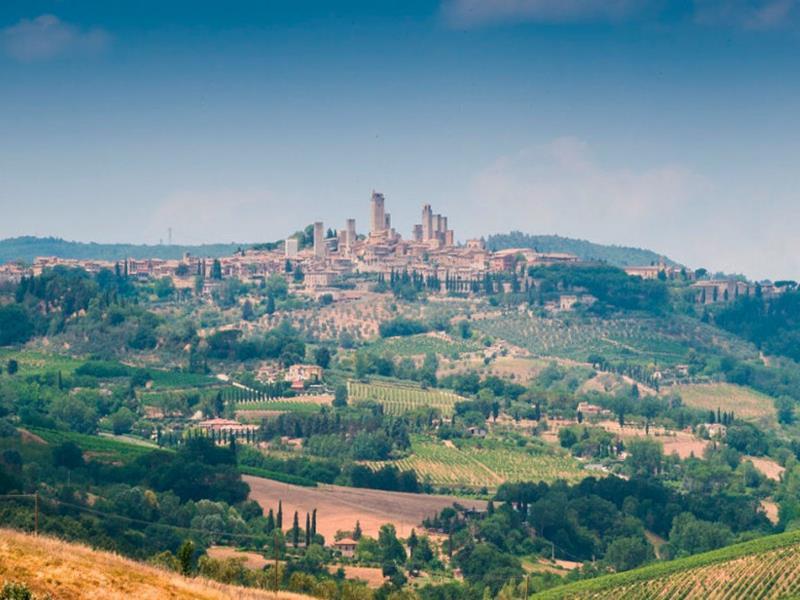 Сан-Джиминьяно — один из самых живописных городов Тосканы.