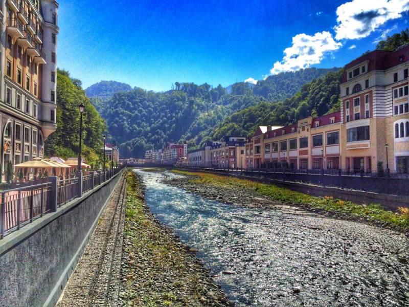 дорога до олимпийской деревни